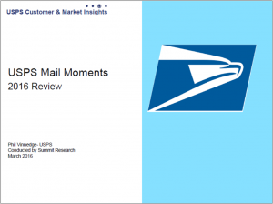 USPS Customer & Market Insights